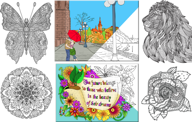 Use This Offer To Download 4 Of Our Best Coloring Pages Them And Print As Many Times You Wish We Love Hope Do Well
